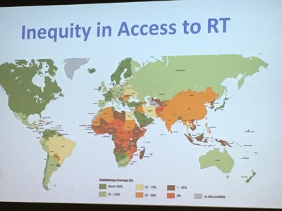 Inequality in Access to RT map