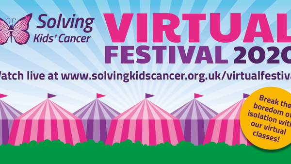 Join the Solving Kids' Cancer Virtual Festival